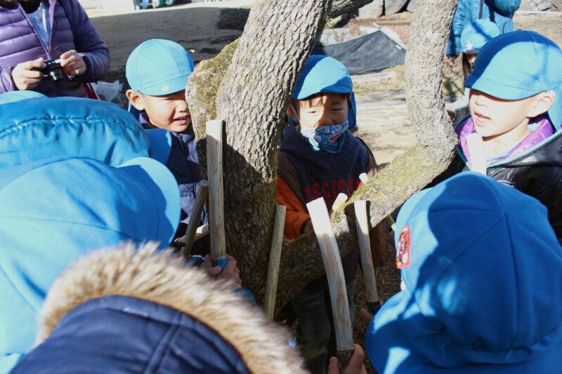 高根第1保育園で伝統行事「なりもっそう」