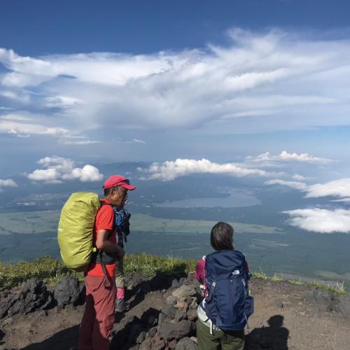 プロガイド付き富士登山!1泊2日ツアー(ペア)の返納品画像イメージ