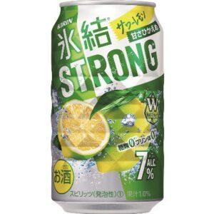 キリン 氷結ストロング サワーレモン 350ml 1ケース(24本)の画像イメージ