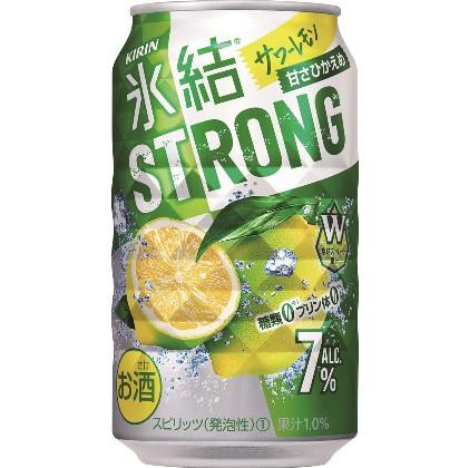キリン 氷結ストロング サワーレモン 350ml 1ケース(24本)の返納品画像イメージ