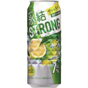 キリン 氷結ストロング サワーレモン 500ml 1ケース(24本)の画像イメージ