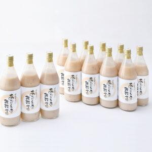 時之栖オリジナル12種類の雑穀甘酒 12本セットの画像イメージ