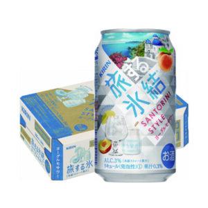 キリン旅する氷結 ヨーグルモサワー 350ml×24本(1ケース)の画像イメージ