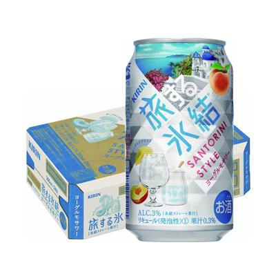 キリン旅する氷結 ヨーグルモサワー 350ml×24本(1ケース)の返納品画像イメージ