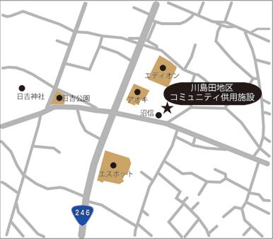 第15投票所 川島田地区コミュニティ供用施設