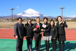 台湾オリンピック委員会視察