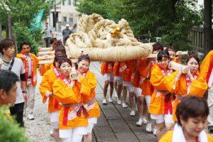 7月1日 わらじ安全祈願祭<br>2013.07.01 掲載
