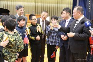 台湾林代表委員原里小訪問<br>2018.03.05 掲載