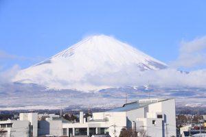 みくりやキッチンからの富士山<br>2019.02.01 掲載