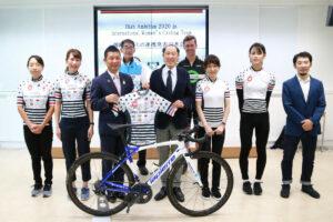 女子国際自転車チームと連携<br>2020.09.29 掲載