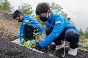 百年の計 富士山に緑を返そう運動<br>2021.06.16 掲載