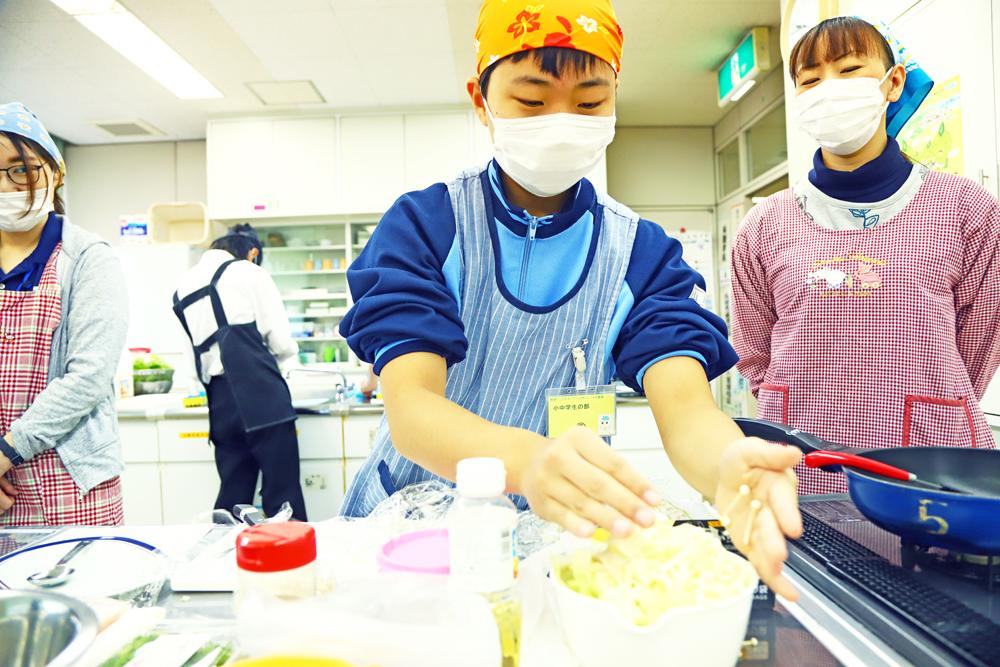 米コン小中学生1