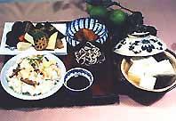 南瓜、湯豆腐