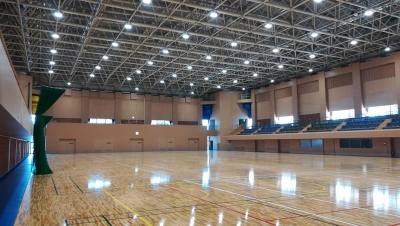 御殿場市体育館リニューアルオープン!!