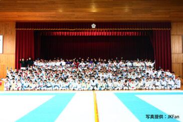 空手の全日本王者、五明宏人選手の凱旋セミナーが開催されました!