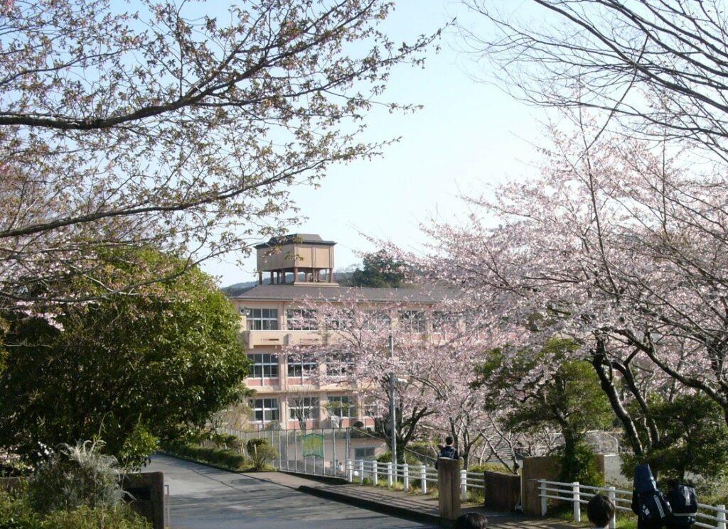 富士岡中 写真