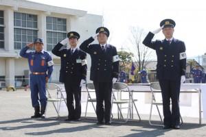 消防団春季演習