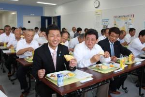 市立南学校給食センター完成披露会