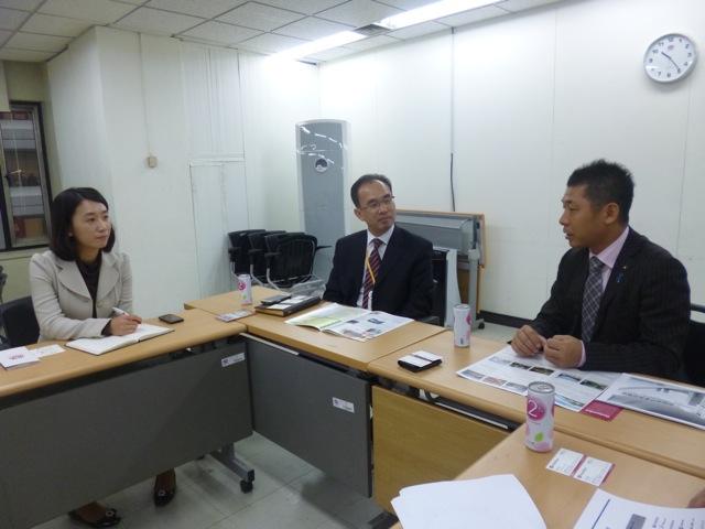韓国旅行社へのトップセールス