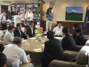 県知事へ要望