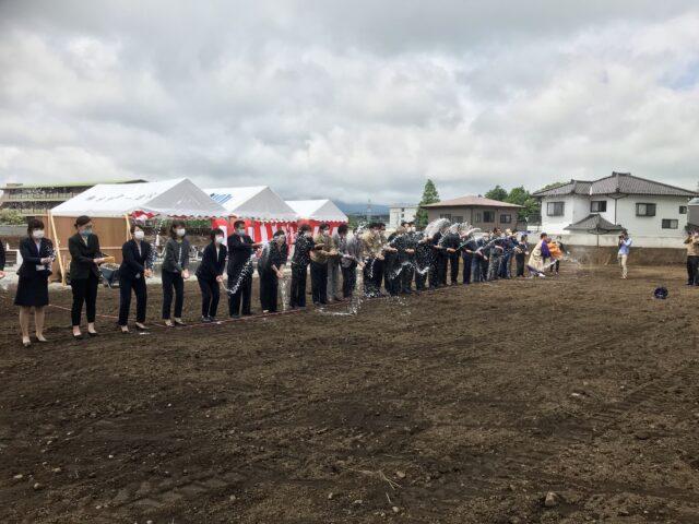 富岳複合施設地鎮祭