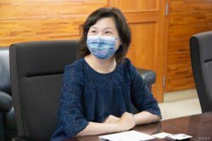 台湾領事が御殿場市長を訪問