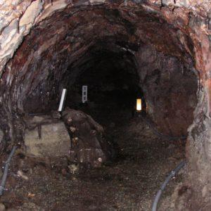 天然記念物印野の熔岩隧道