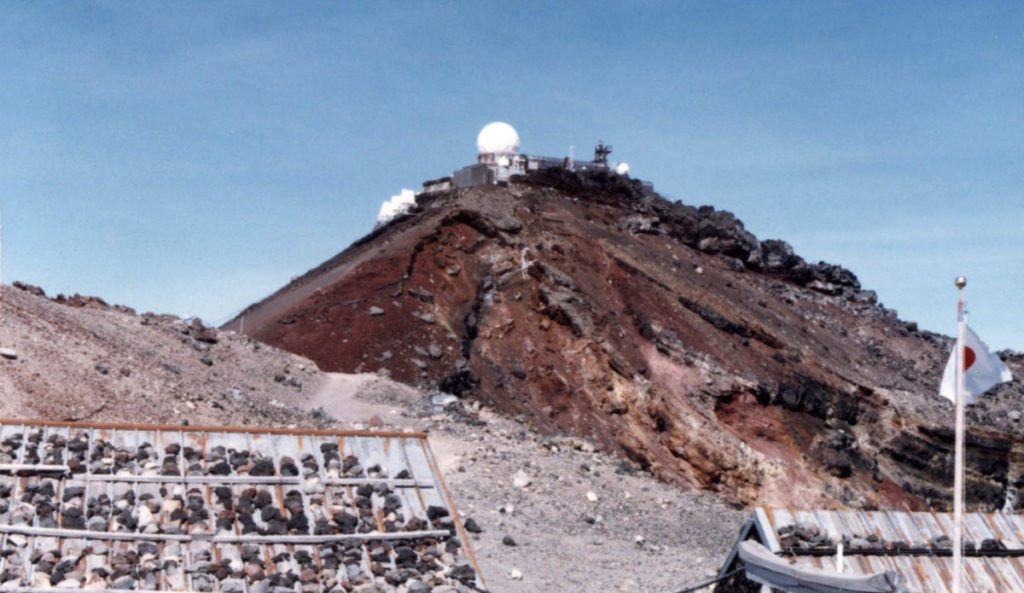 富士山測候所(在りし日)