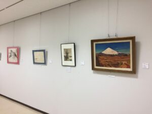 富士山の日協賛事業「新規寄贈品公開展」開催